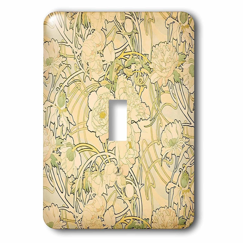 Florene Art Deco And Nouveau - Image of Alphonse Muchas Floral ...