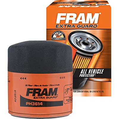 FRAM PH3614 Extra Guard Spin-On Oil Filter: Automotive