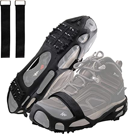 one size fits most BRAND NEW Travel Gear Ice Shoe Grippers Black