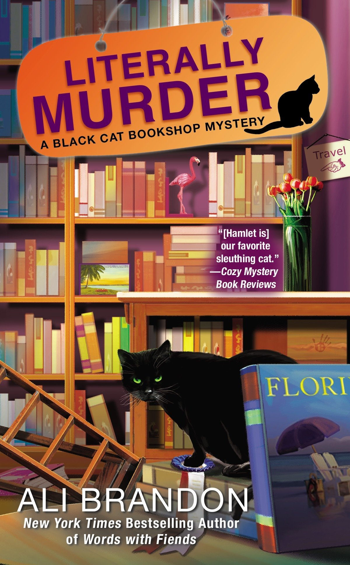 Literally Murder (A Black Cat Bookshop Mystery, Band 4)