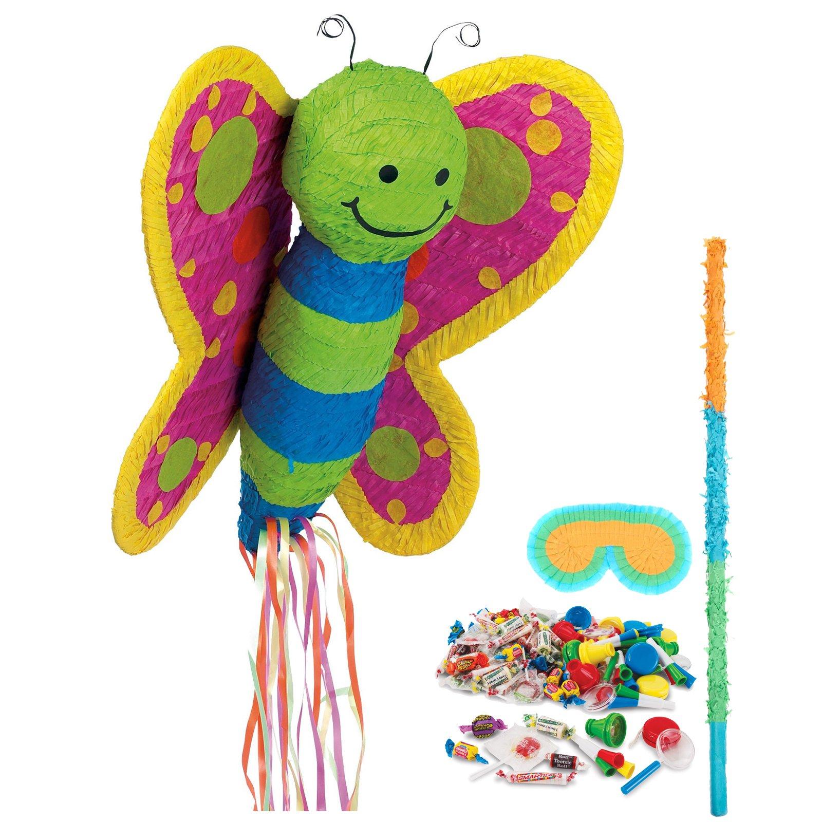 Birthday Express Kits Butterfly Pinata Kit