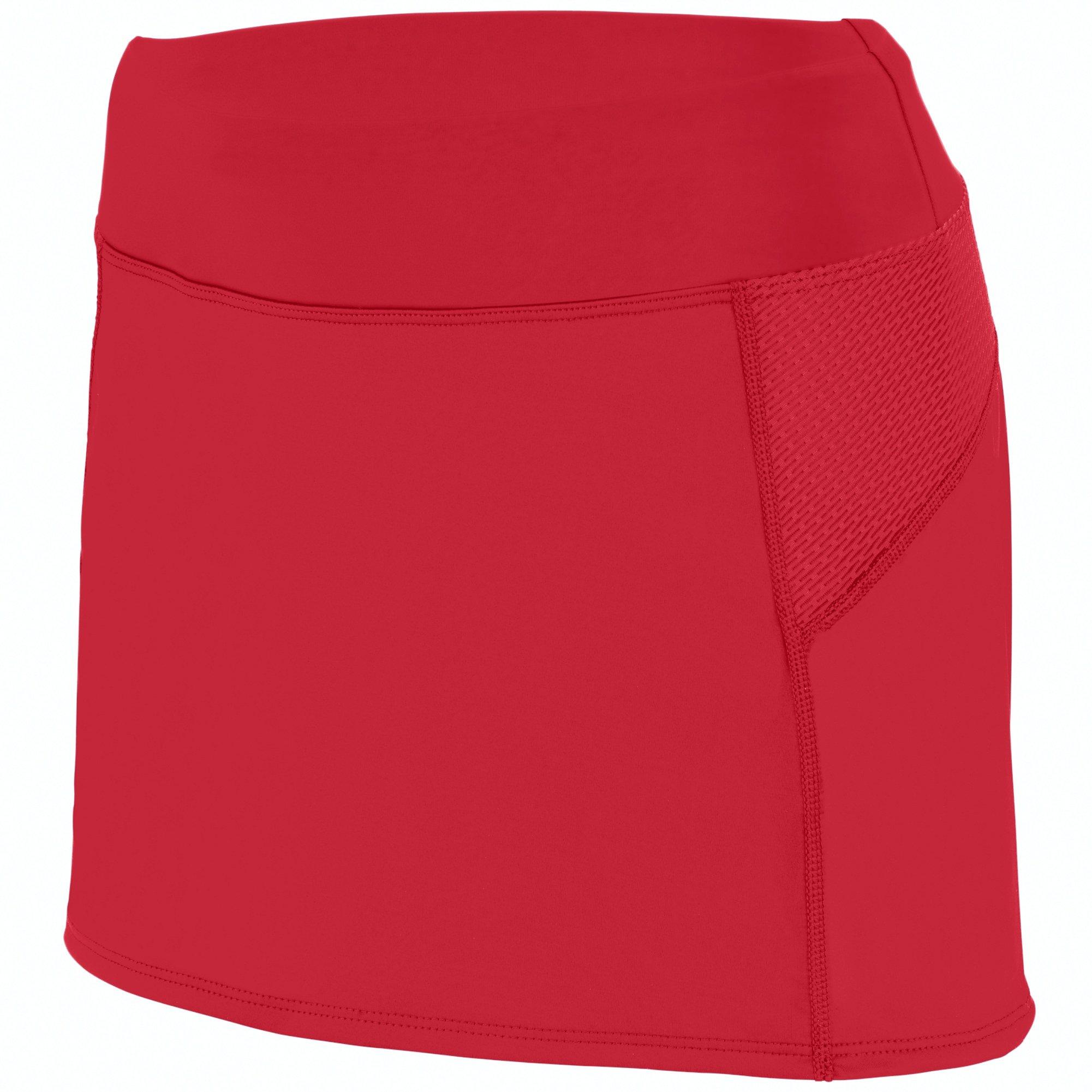 Augusta Sportswear Women's Femfit Skort S Red/Graphite