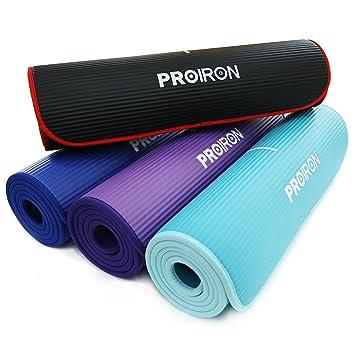 PROIRON Colchón para Yoga NBR Colchoneta Antideslizante Ideal para ...