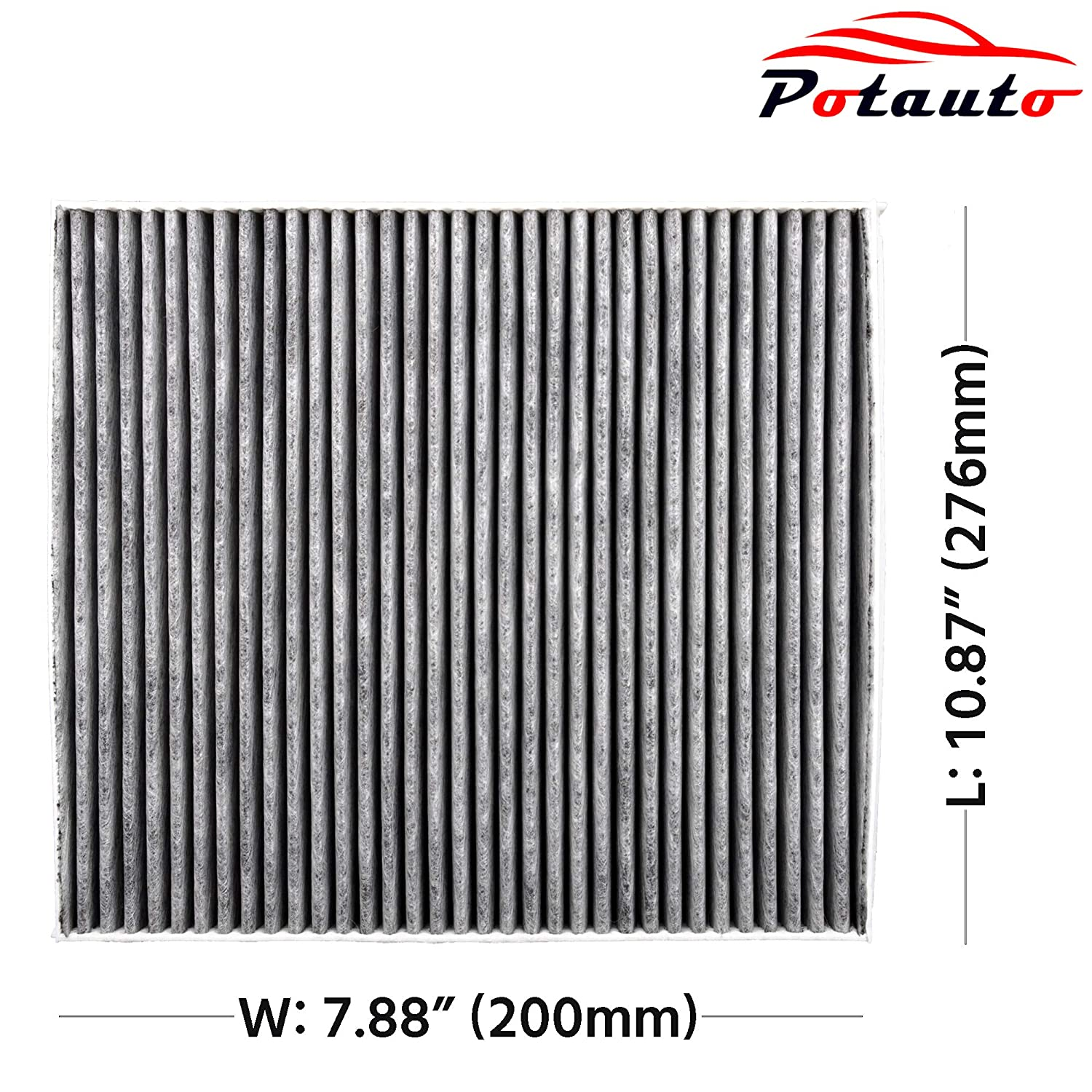 CF11668 DODGE Charger POTAUTO MAP 1031C Challenger Replacement Activated Carbon Car Cabin Air Filter for CHRYSLER 300
