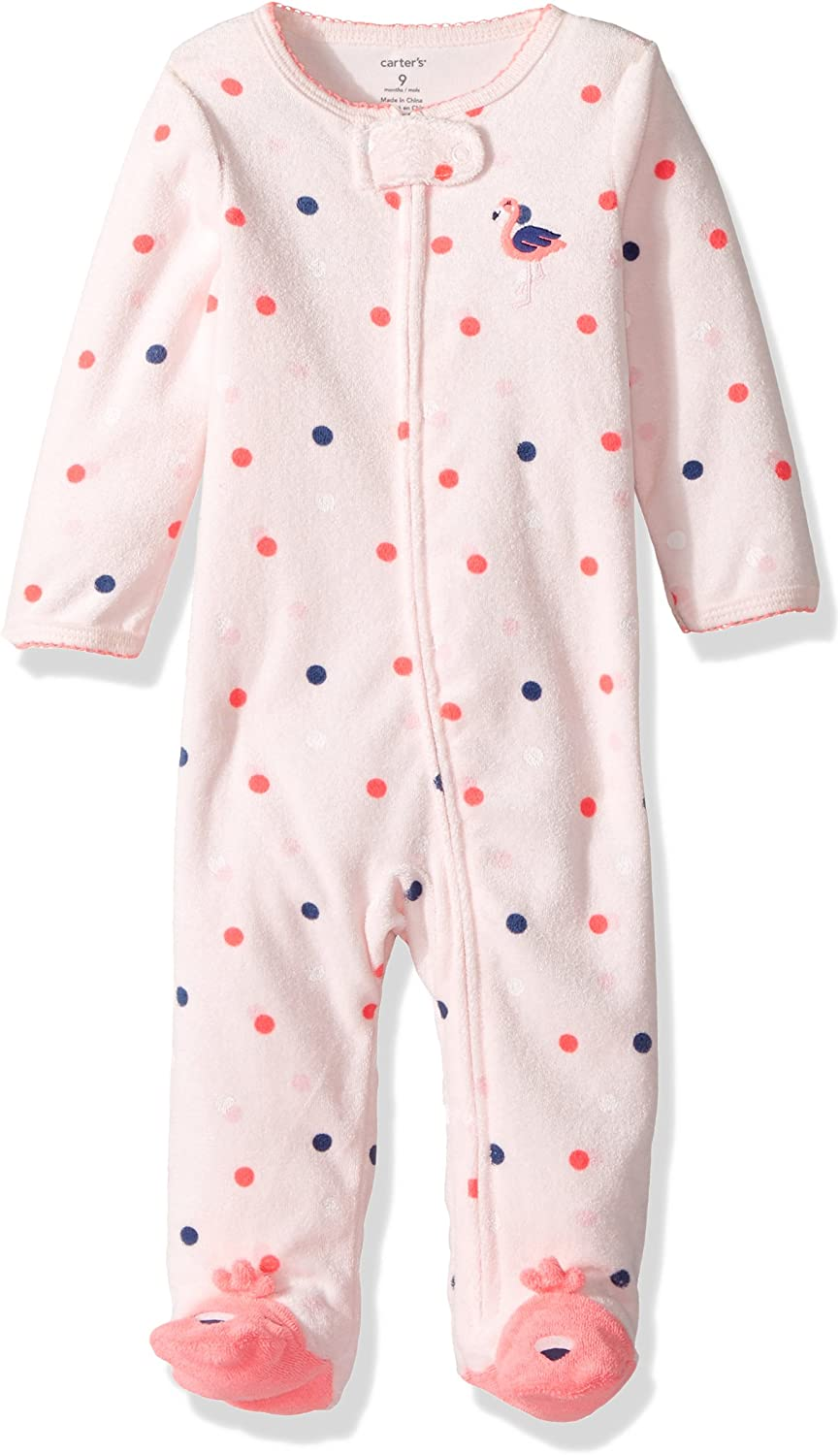 Carters Baby Girls Terry 115g175