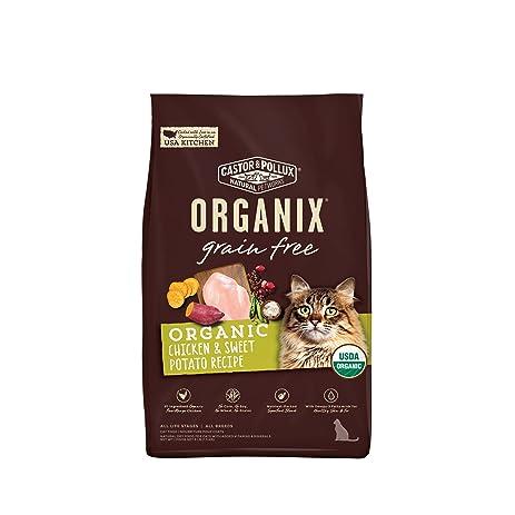 Amazoncom Castor Pollux Organix Grain Free Chicken Sweet