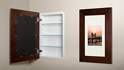 Etonnant 14x24 Espresso Concealed Medicine Cabinet (Extra Large), A Recessed  Mirrorless Medicine Cabinet With