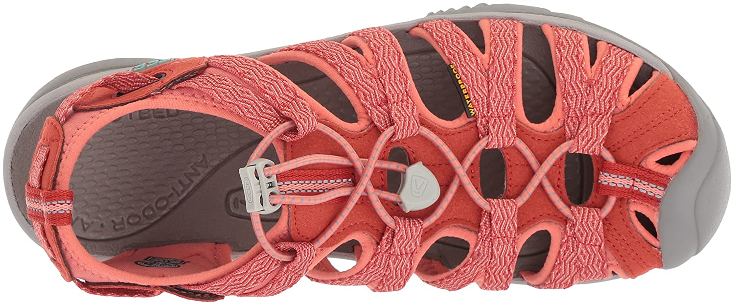 KEEN Women's Whisper-w Sandal B06ZYRZWS9 10 B(M) US|Summer Fig/Crabapple