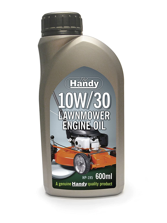 El práctico hp-195 600 ml 10 W/30 cortacésped del aceite del motor, color gris: Amazon.es: Bricolaje y herramientas