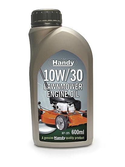 El práctico hp-195 600 ml 10 W/30 cortacésped del aceite del motor