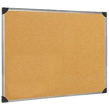 5 Star 915609 Office - Tablero de corcho de pared con marco de ...
