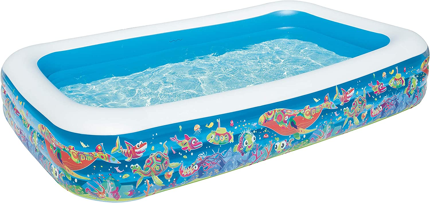 Color Baby Bestway - Piscina Hinchable (54121): Amazon.es: Juguetes y juegos