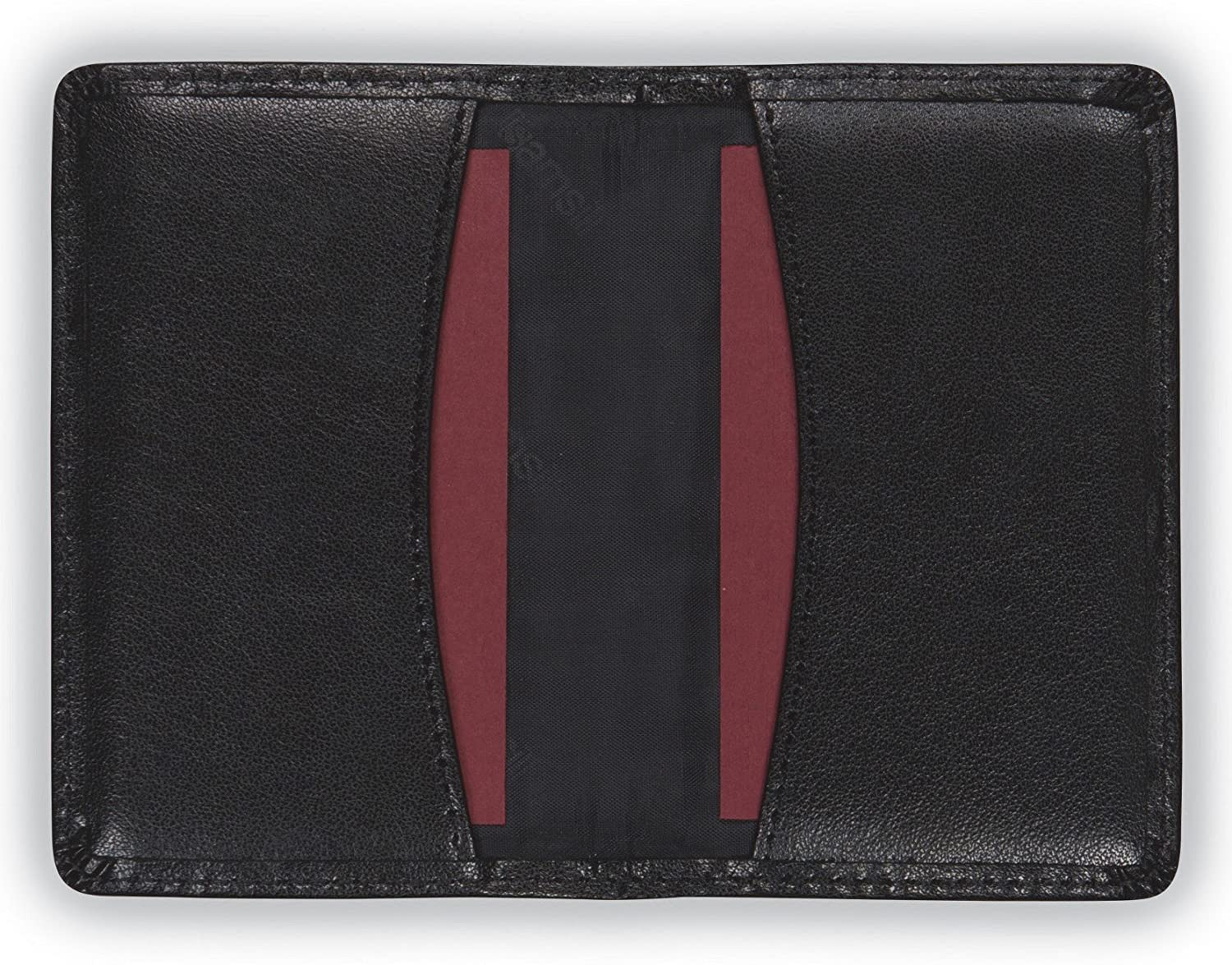 Amazon.com : Samsill Regal Leather Business Card Holder, Case ...