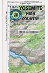 Yosemite High Country (Tom Harrison Maps) Map