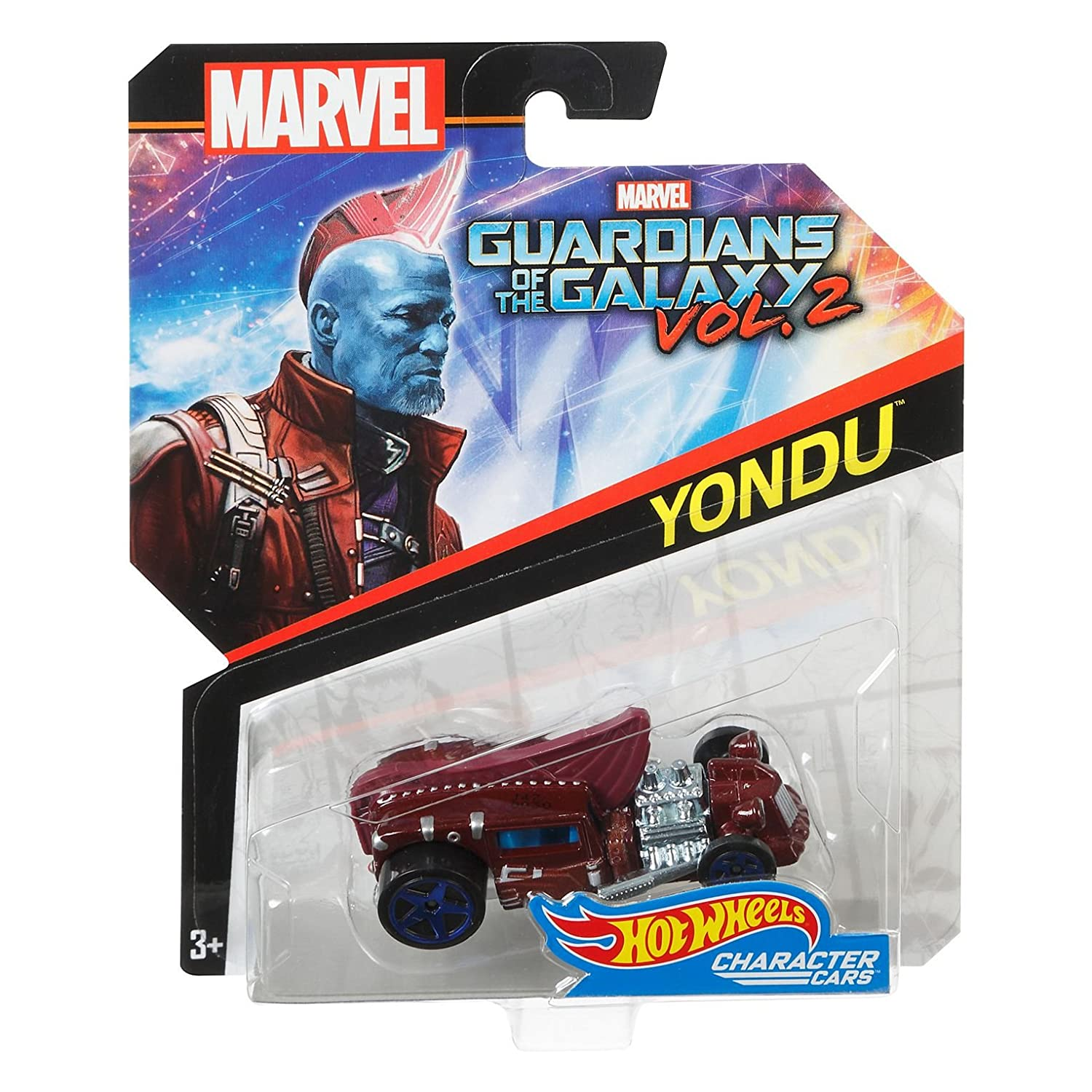Hot Wheels 1:64 Marvel Character Car Guardians of the Galaxy Yondu