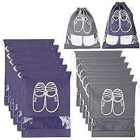 Xddias 12 Piezas Bolsa de Zapatos, Impermeable Bolsa