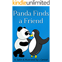 Panda Finds A Friend: A Short Bedtime Story For Kids (English Edition)