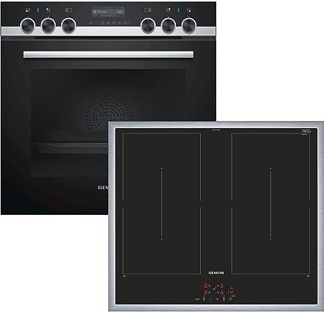 SIEMENS PQ561DA00 Juego de fogones compuesto de: HE579GBS6 Cocina ...