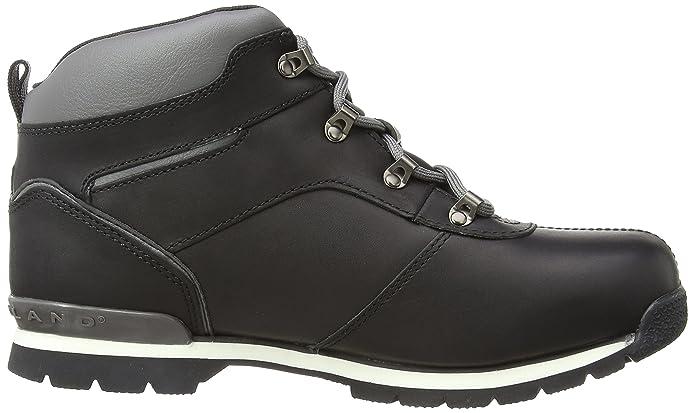 4004c2968900 Timberland Kid s Splitrock 2 Euro Hiker Chukka, Black, 3.5 Child UK   Amazon.co.uk  Shoes   Bags