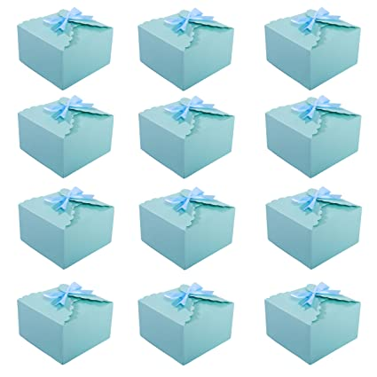 Amazon Missshorthair Gift Boxes12 Pack Solid Color Decorative