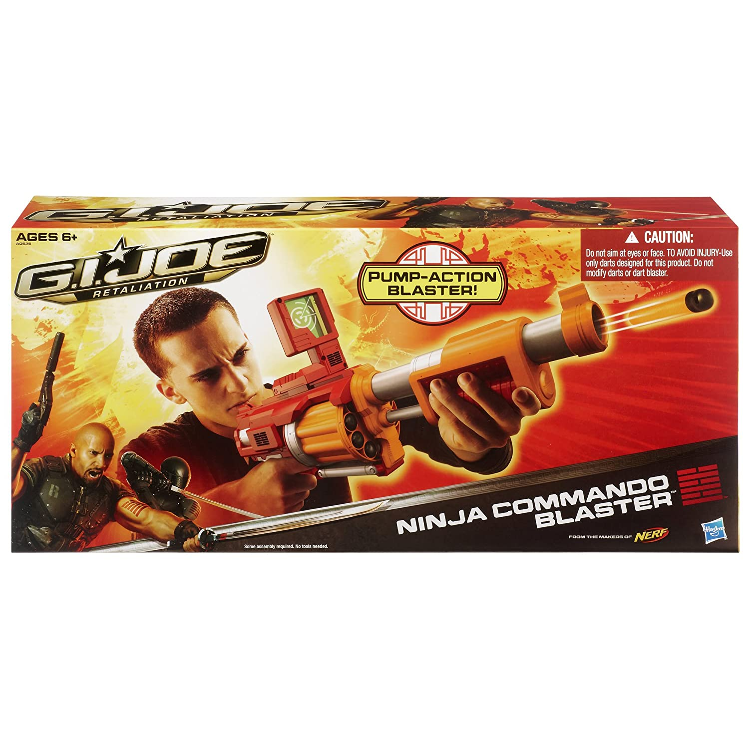 GI Joe Retaliation - Ninja Commando Blaster From The Makers Of Nerf