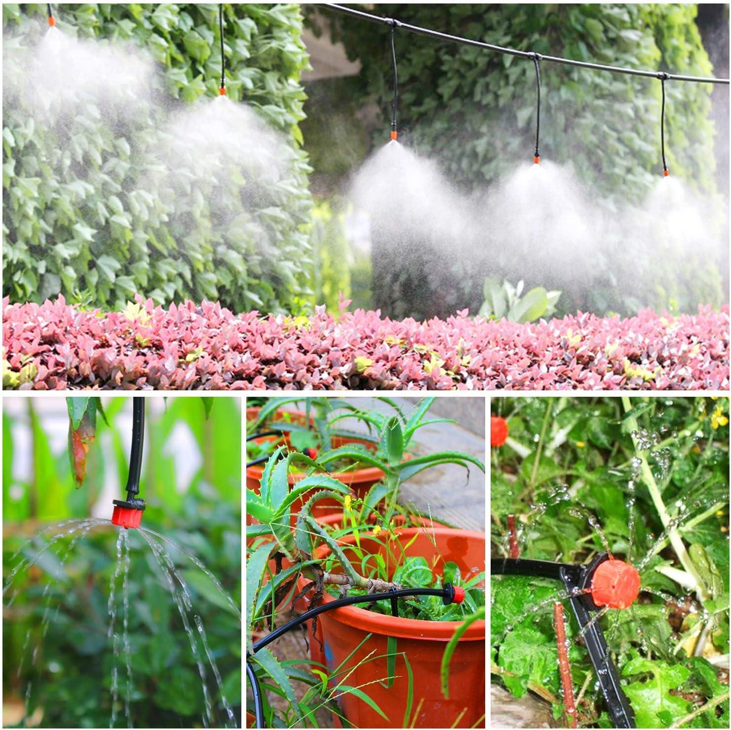 FAMS Kit de riego de jardín, 149 Piezas de riego DIY Micro ...
