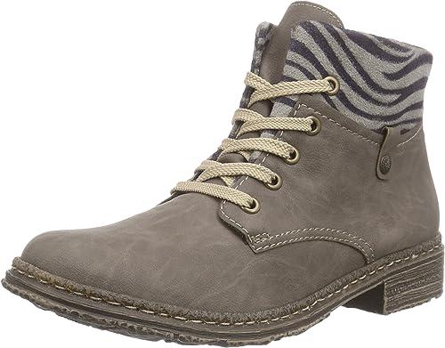 Rieker 74234 Damen Schnürstiefel: : Schuhe
