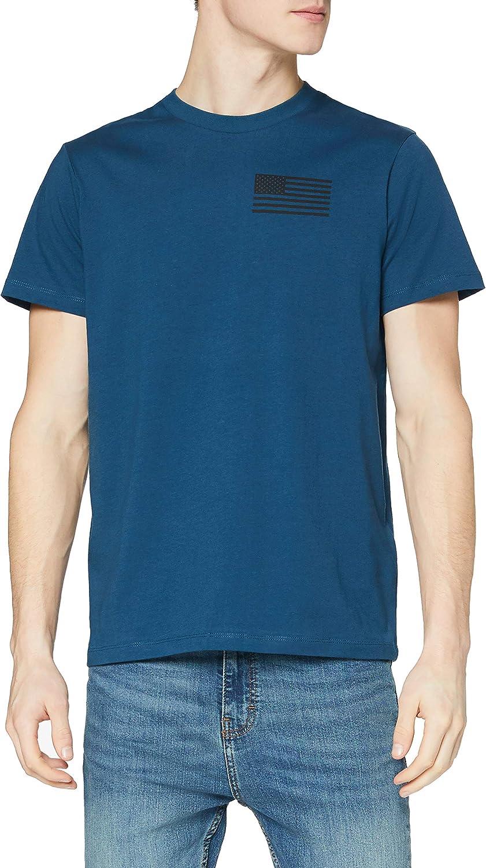 Marca Amazon - find. Camiseta Bronx para Hombre