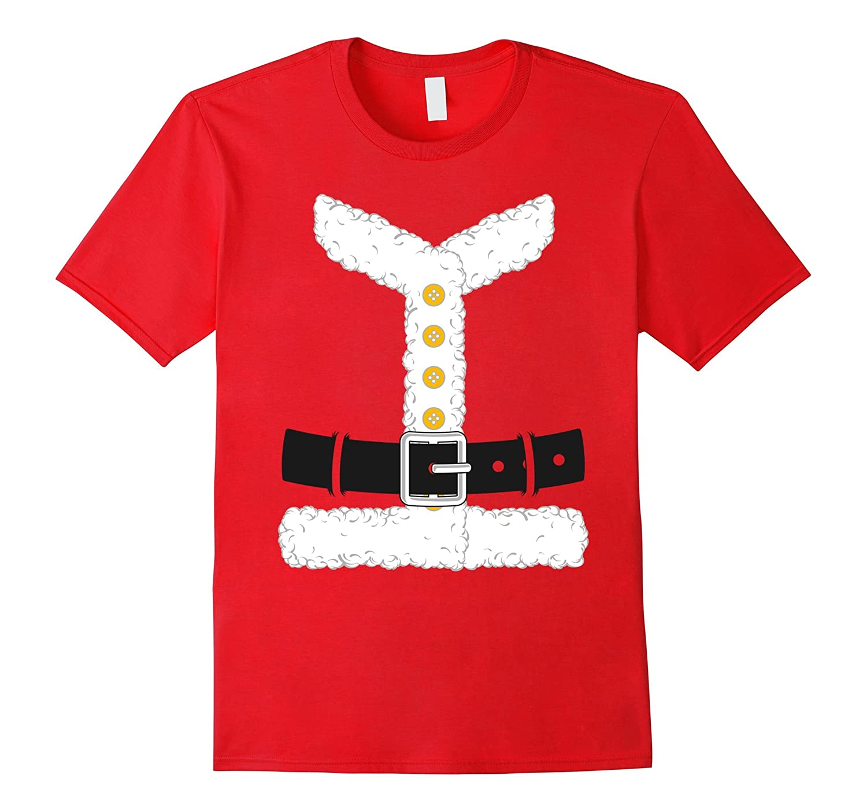 Santa Claus Suit Matching Couples Christmas Costume T-Shirt