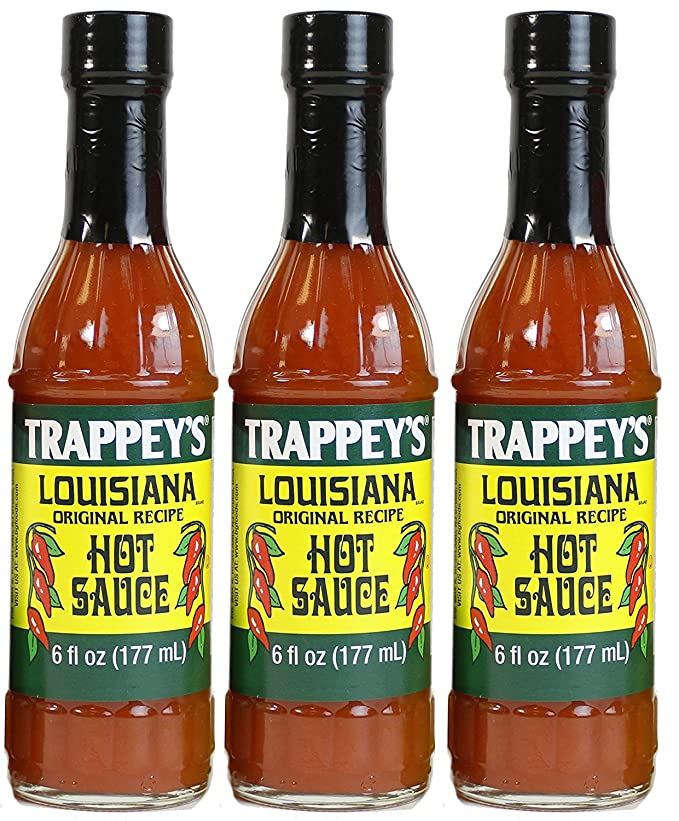 Trappey's Louisiana Hot Sauce (Priced Pack of Three)