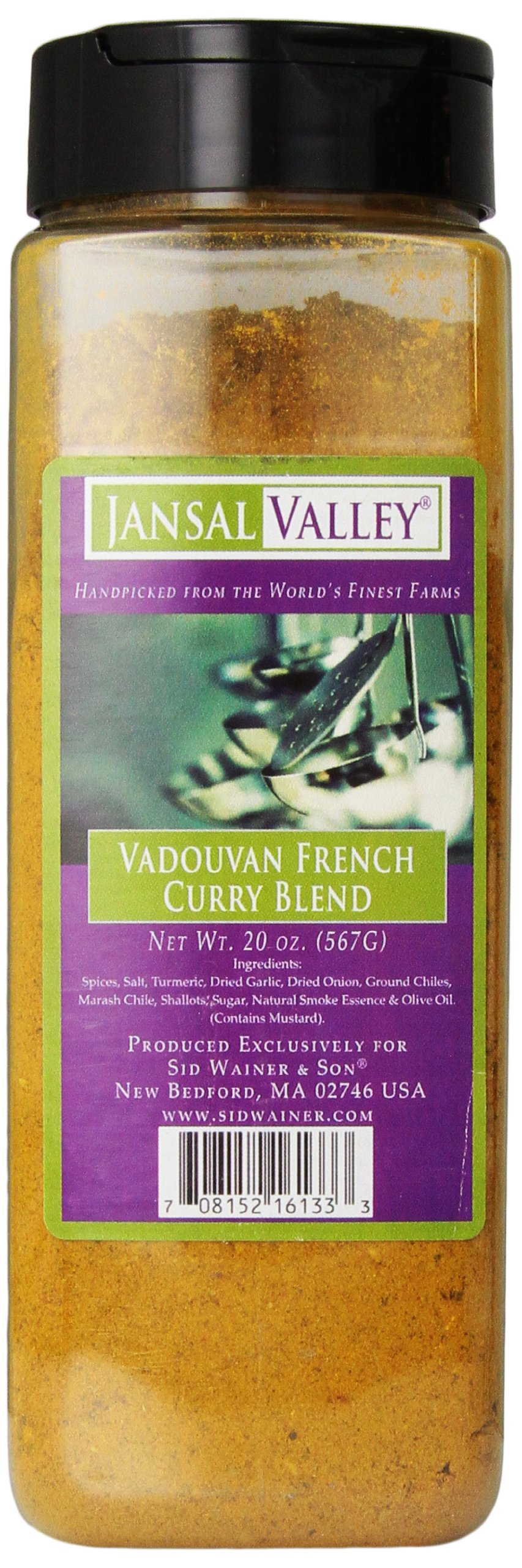 Jansal Valley Vadouvan French Curry Blend, 20 Ounce