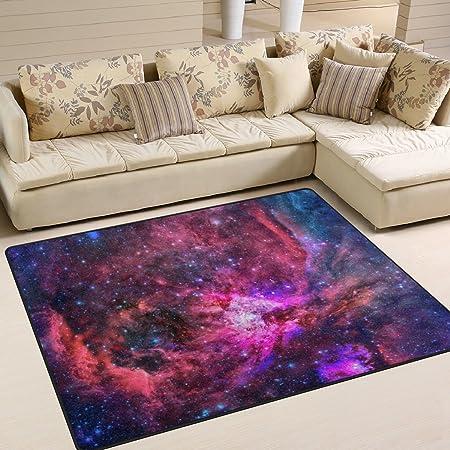naanle Star Galaxy nebulosa antideslizante área alfombra ...