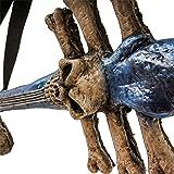 Halloween Haunters Scary Rubber Latex Skeleton