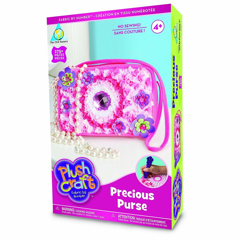 The Orb Factory Limited Plush Craft Precious Purse 65362