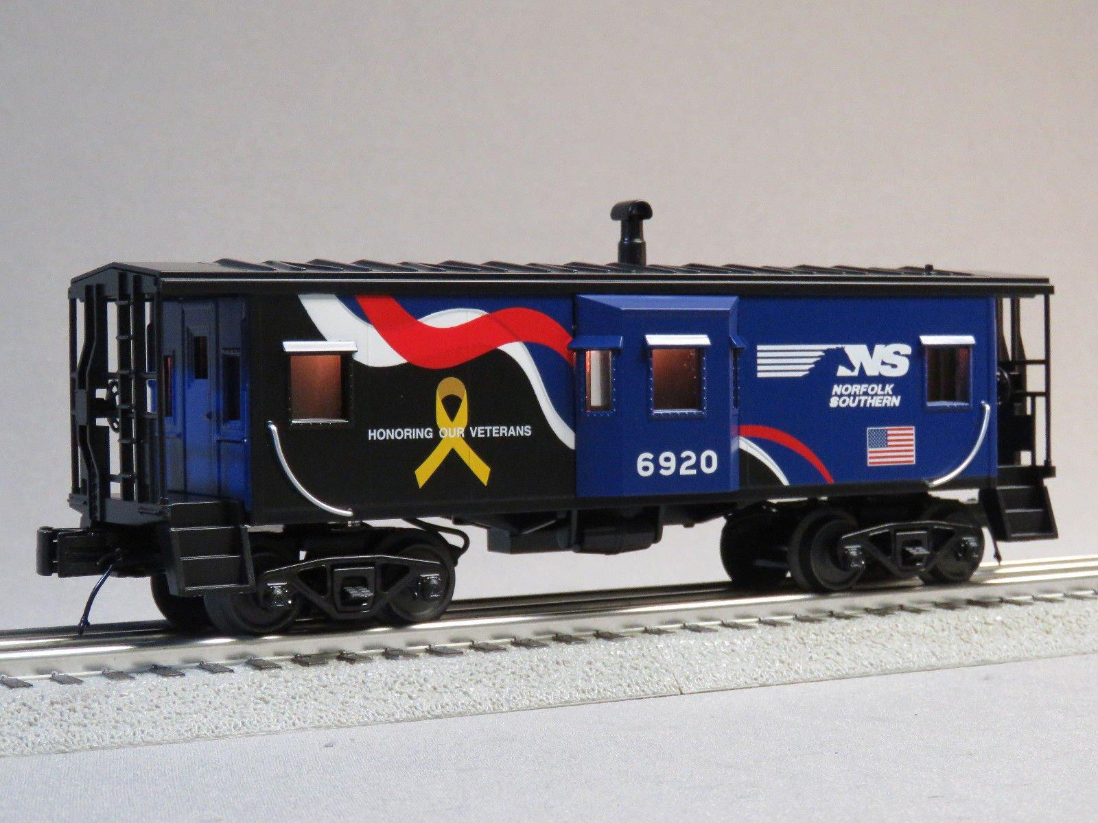 MTH RAIL KING NORFOLK SOUTHERN VETERANS CABOOSE #6920 o gauge