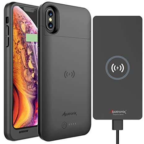 Amazon.com: Alpatronix BXX - Funda con batería para iPhone X ...