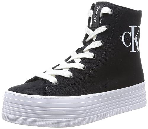 Calvin Klein Jeans - Zabrina Canvas, Zapatillas Mujer, Negro (Blk 000), 39 EU: Amazon.es: Zapatos y complementos