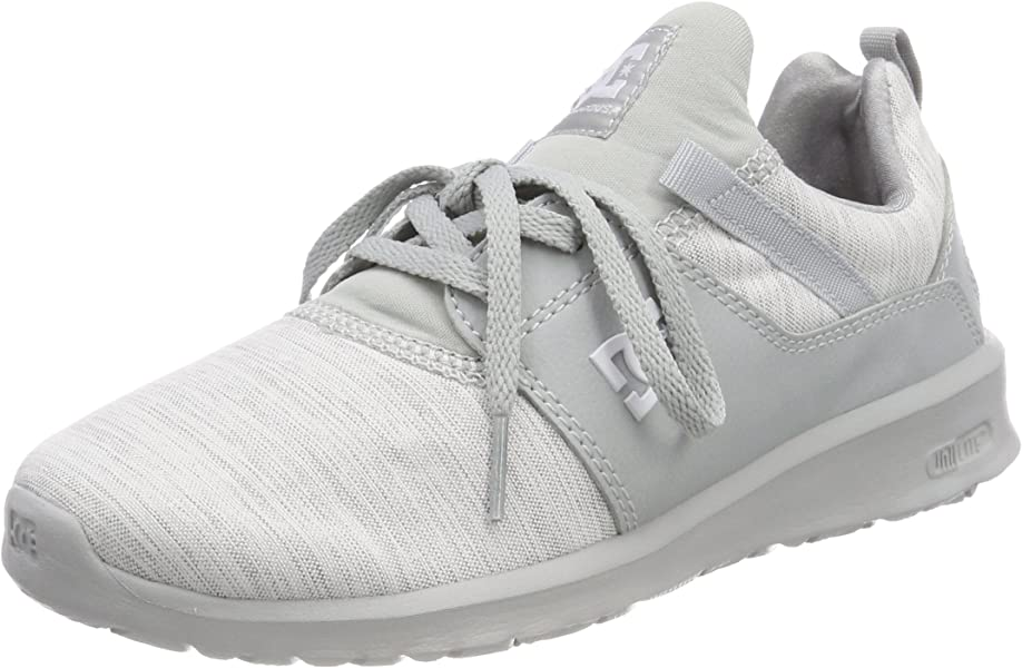 f049126811 Amazon.com: DC Shoes Women's Heathrow TX SE Trainers, Grey (Grey ...