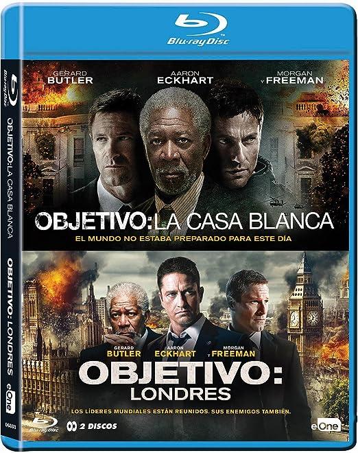 Pack Objetivo La Casa Blanca + Objetivo Londres Blu-Ray Blu-ray ...
