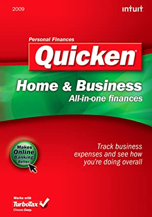 Quicken 2009 Home and Business [Download] [OLD VERSION]