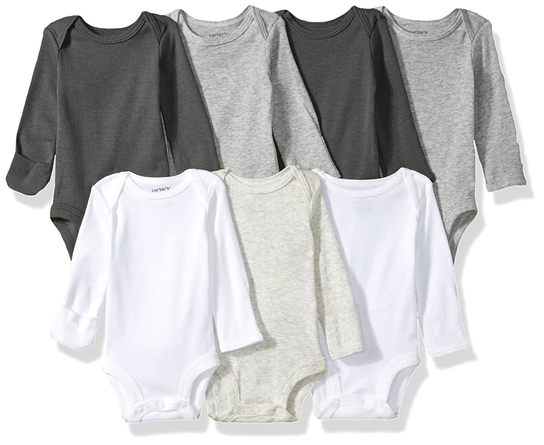 Carter's Baby 7-Pack Long-Sleeve Bodysuits Carters KBC 126H377