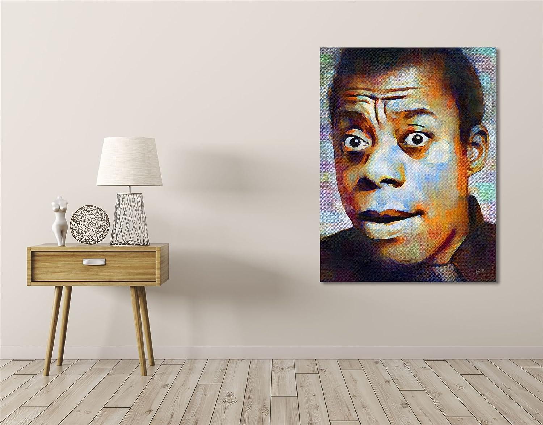 JAMES BALDWIN AFRICAN POET ART PRINT POSTER OIL PAINTING LLFF0067