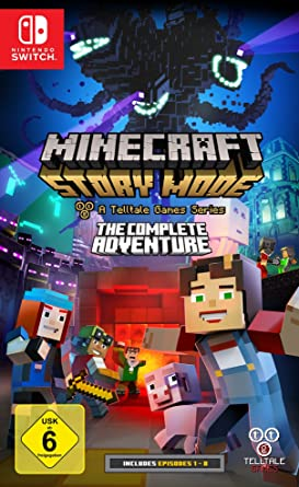 Minecraft Story Mode The Complete Adventure Nintendo Switch - Spiele es minecraft