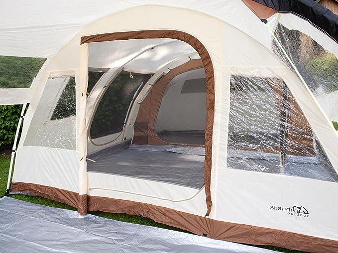 Skandika Kairo -1954 -Tienda de campaña/camping -6 personas -mosquiteras -beige: Amazon.es: Deportes y aire libre