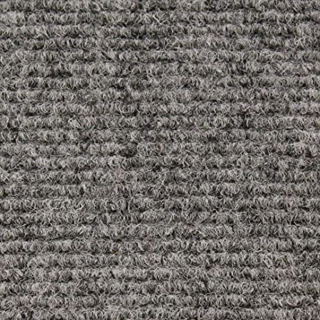 Amazon.com: Indoor/Outdoor Carpet with Rubber Marine Backing - Gray ...