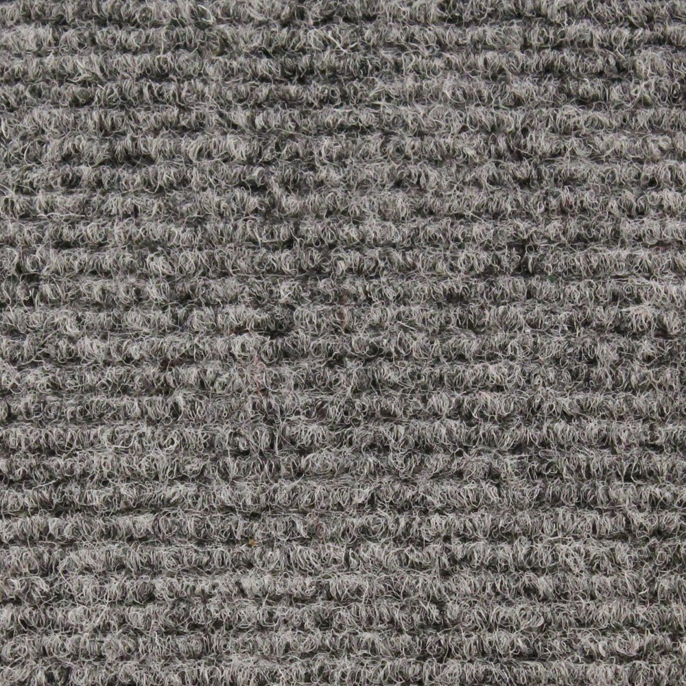 Indoor/Outdoor Carpet with Rubber Marine Backing - Gray 6' x 15' - Several Sizes Available - Carpet Flooring for Patio, Porch, Deck, Boat, Basement or Garage