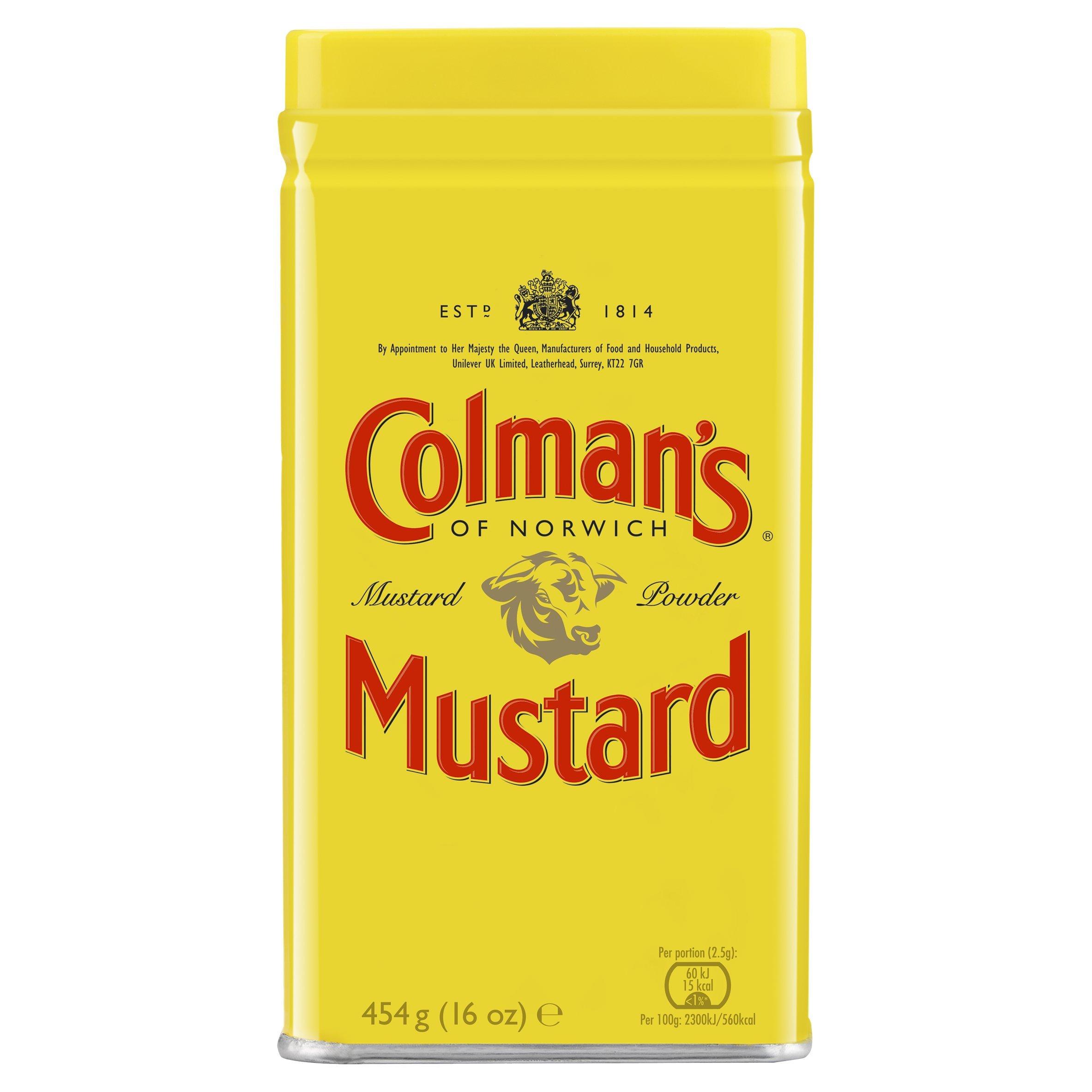 Colman's Original English Mustard Powder, 454 g
