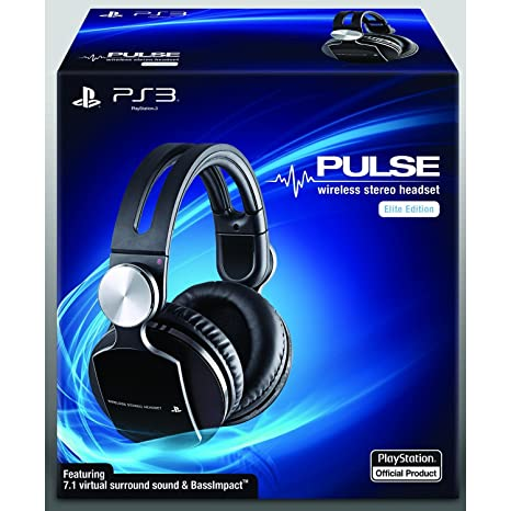 buy sony pulse wireless stereo headset elite edition online at low rh amazon in Sony Pulse Elite Sony Pulse Headphones
