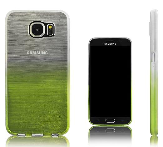 Amazon.com: Xcessor – Carcasa de TPU para Samsung Galaxy S6 ...