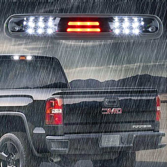 Black//Smoke LED BAR 3RD Third Brake Light For 2015-18 GMC Sierra 2500HD 3500HD